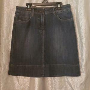 Jean skirt - 5 pocket